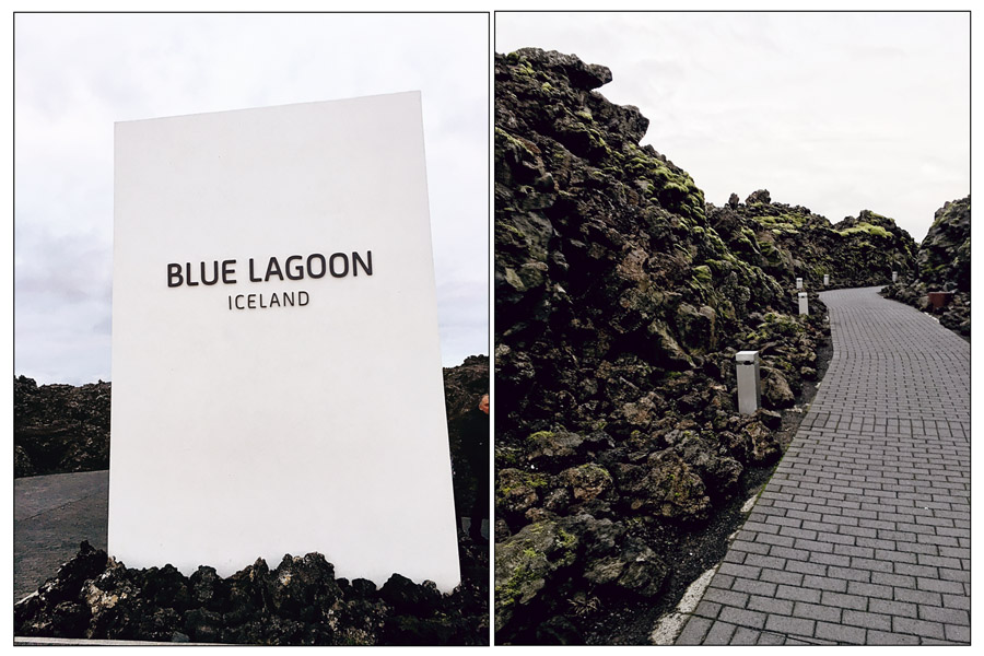 Entrance to the Blue Lagoon