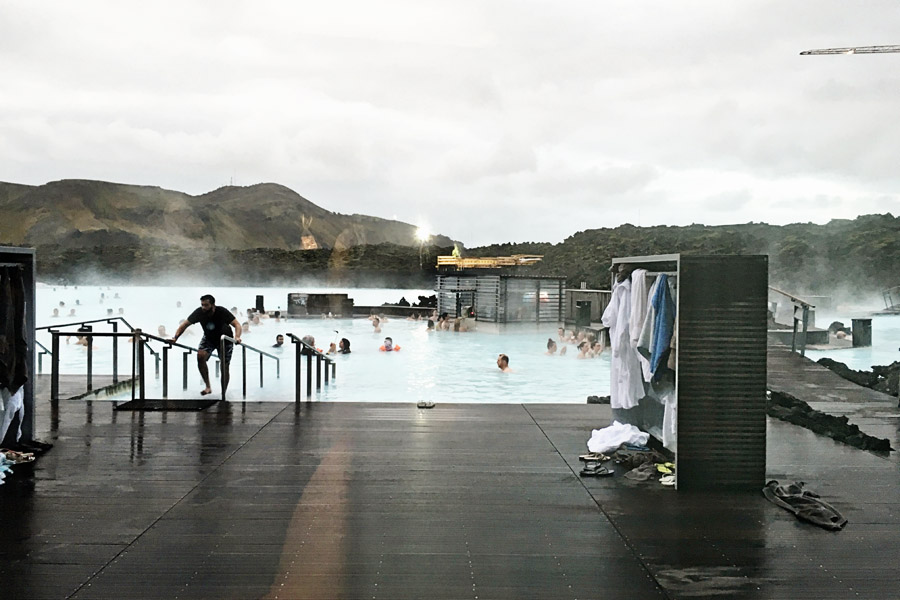 Blue Lagoon Decking and Pool